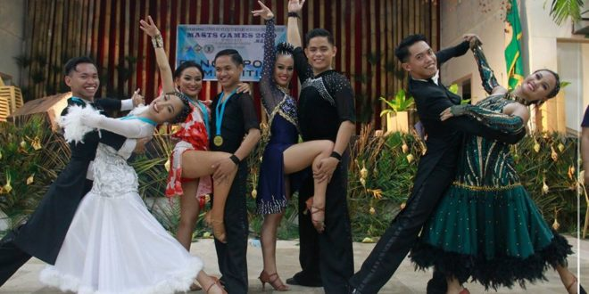 IN PHOTOS: CMU winners of Dance Sport Competition held at Convention Center, Camiguin, November 25.