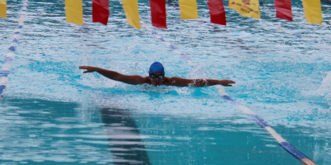 IN PHOTOS: CMU winners of swimming competition held at Sports Complex, Mambajao, Camiguin, November 25-27.