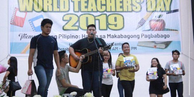 """IN PHOTOS: World Teachers' Day 2019 with the theme """"Gurong Pilipino: Handa sa Makabagong Pagbabago."""""""