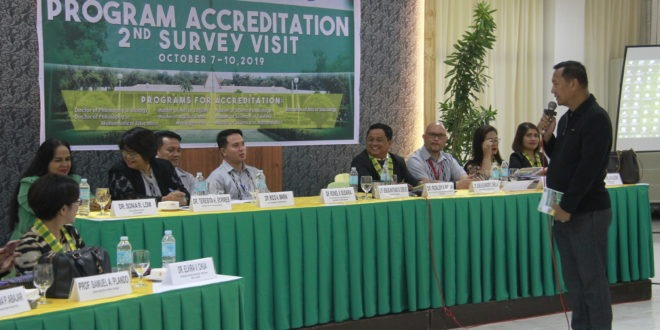 LOOK: CMU had an Accreditation Agency of Chartered Colleges and Universities in the Philippines, Inc. (AACCUP) Program Accreditation 2nd Survey Visit last October 7-10.