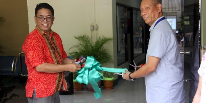 IN PHOTOS: Opening & Blessing Ceremony for the Guidance Counseling Center last January 17.