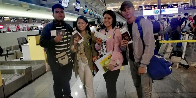 LOOK: The4th batch of BSED students accepted for a 3-month Practicum or Pre-Service Teachers' Training at Takpittayakhom School in Thailand