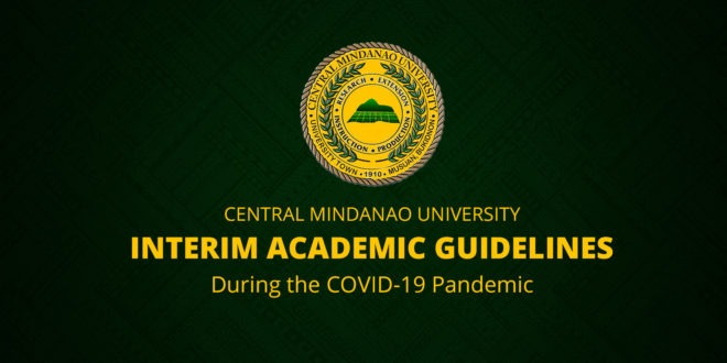 LOOK: CMU's Interim Academic Guidelines During the COVID-19 Pandemic
