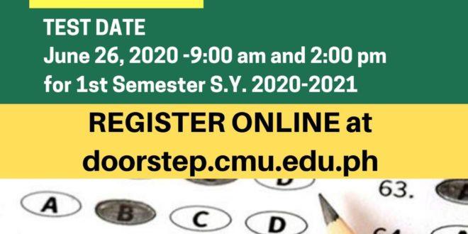 Graduate School Admission Test (GSAT) Dates