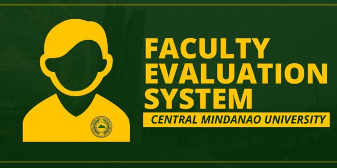 Faculty Evaluation System