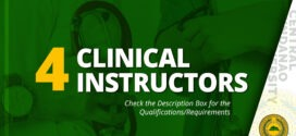 HIRING: Clinical Instructors