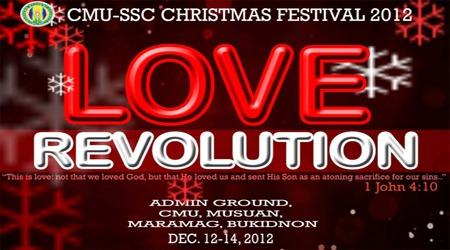 CMU-SSC CHRISTMAS FESTIVAL 2012