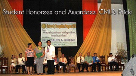 Student Honorees and Awardees: CMU's Pride