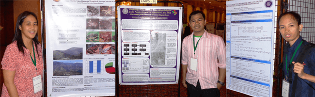 Faculty researchers attend 35th ASM-NAST