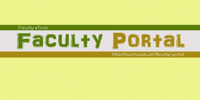 faculty portal copy