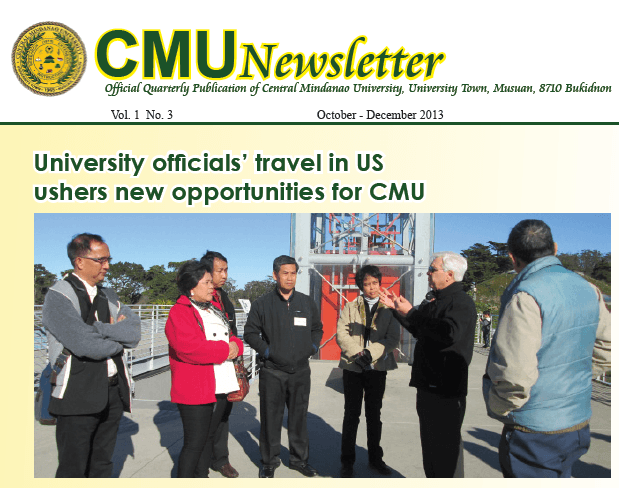 CMU Newsletter Vol. 1 No. 3