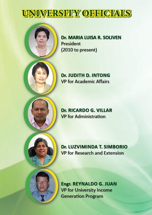 2014 university officials