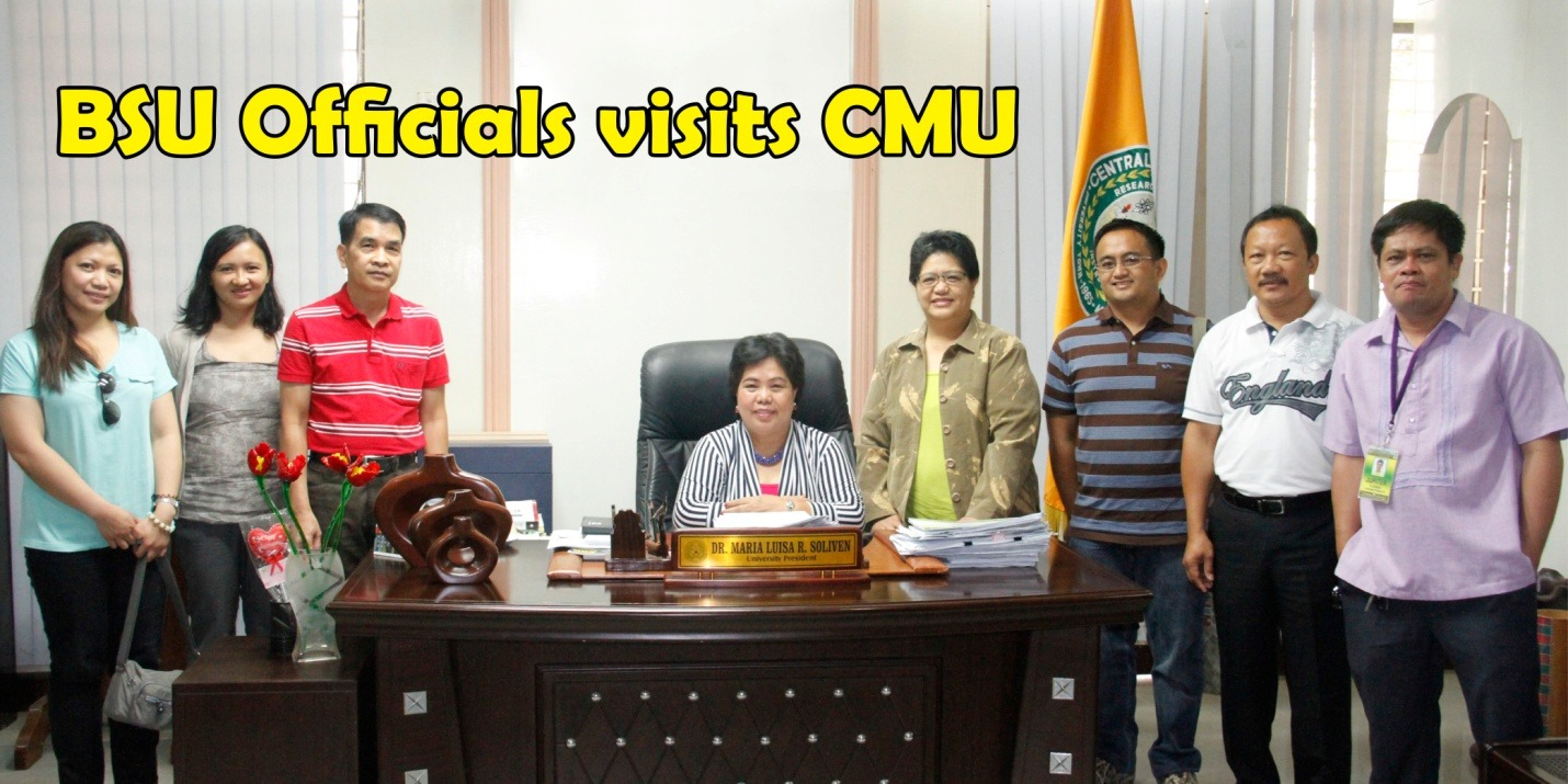 BSU Officials visits CMU