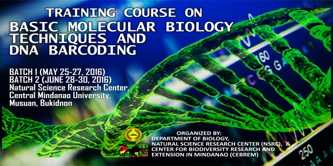 DNA Barcoding Training