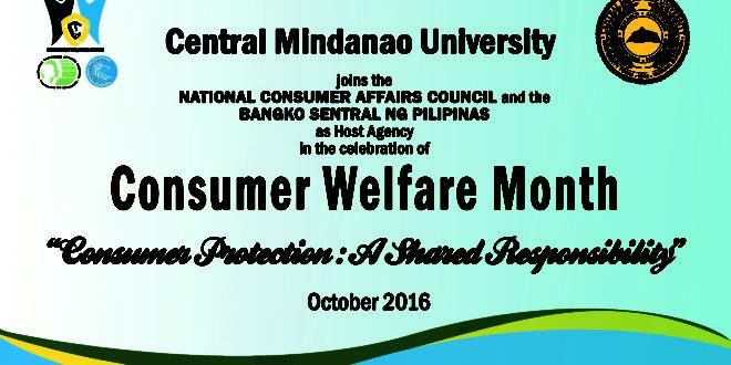 consumer welfare month