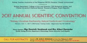 2017 Annual Scientific Convention, Scientific Convention, Biology Education, Biodiversity, Natural Products and Microbiology, CHARLES UNIVERSITY, NATIONAL NATURAL MUSEUM OF PRAGUE, CZECH REPUBLIC