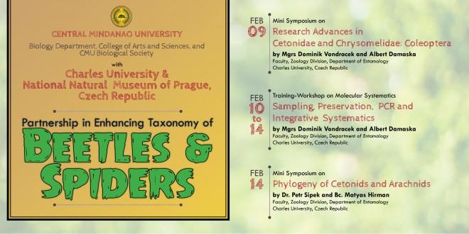 Taxonomy of Beetles & Spiders