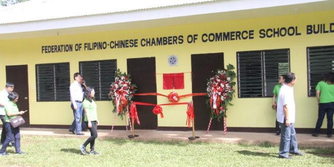 Filipino-Chinese bizman donates new CMULHS building