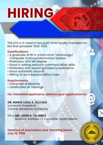 ICA hiring