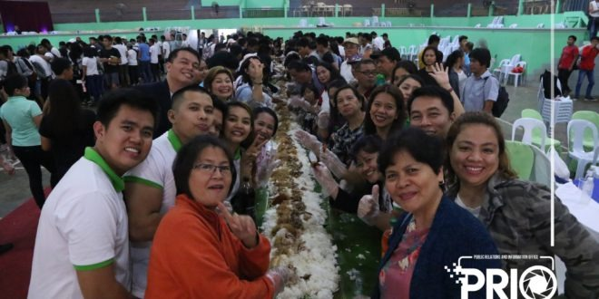 IN PHOTOS: Boodle fight with the alumni and stakeholders