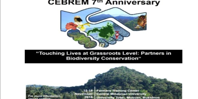 2ND ANNOUNCEMENT: Call for abstracts, Conference on Biodiversity and CEBREM 7th Anniversary.