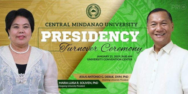 LOOK: CMU PRESIDENCY Turnover Ceremony
