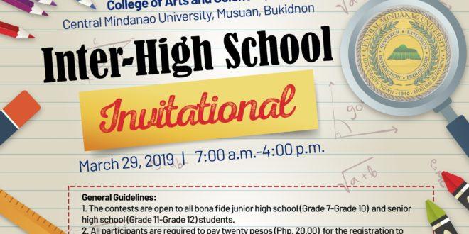 LOOK: Inter-High School Invitational