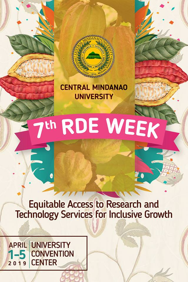 LOOK: CMU's 7th Research, Development, and Extension (RDE) Week will commence on April 1.
