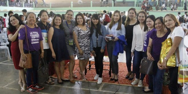 """IN PHOTOS: Central Mindanao University Celebrates the 2019 National Women's Month """"We Make Change Work for Women"""" at the University Convention Center."""