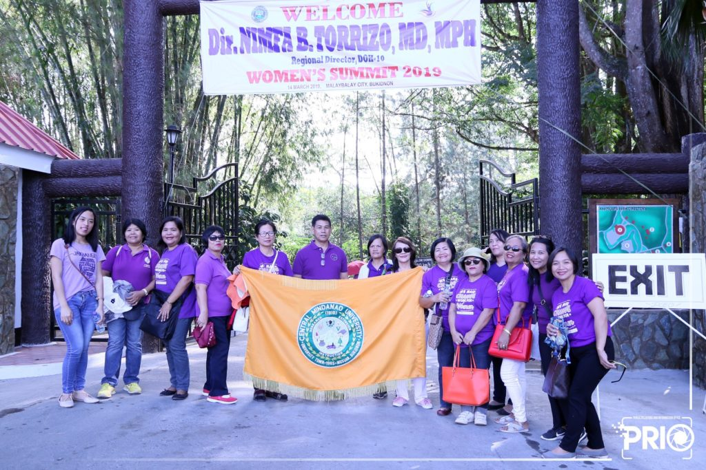 IN PHOTOS: CMU Participated in the 14th Provincial Women's Summit 2019 at Kaamulan Open Theater, Malaybalay City.