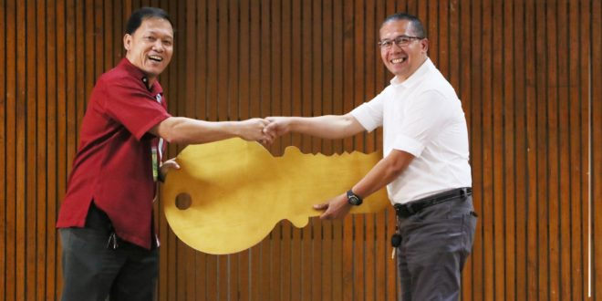 IN PHOTOS: College of Arts and Sciences Turnover Ceremony