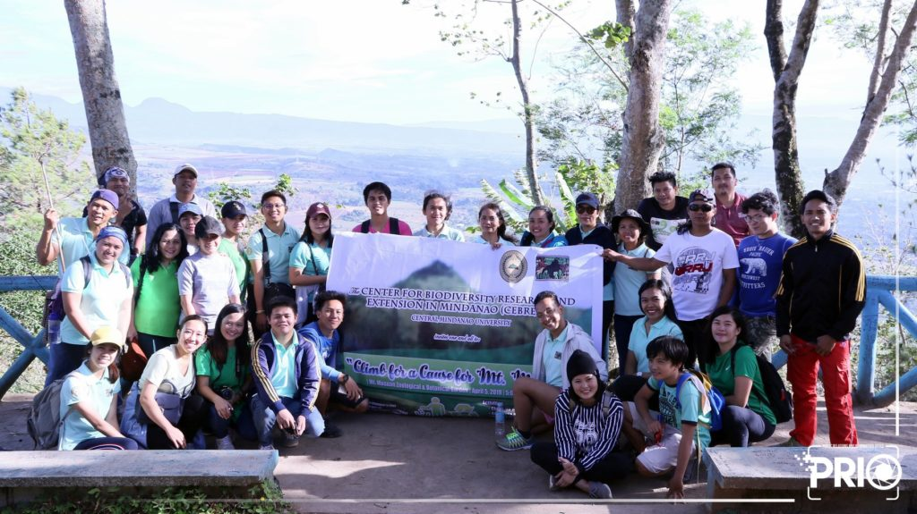 "IN PHOTOS: The Center for Biodiversity Research and Extension in Mindanao (CEBREM) organized a ""Climb for a Cause for Mt. Musuan."""