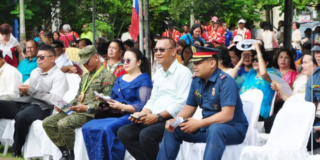 IN PHOTOS: CMU headed by Dr. Jesus Antonio G. Derije participates in the 121st Independence Day Celebration.