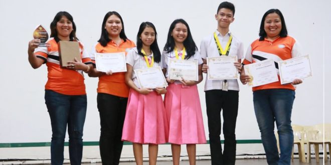 IN PHOTOS: Congratulations to Bukidnon National High School (Team 1) as champion in the 4th Province-wide Inter-High School Histolympiad