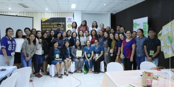 IN PHOTOS: Basic Customer Service Skills (BCSS) Training held at Farmers Training Center, September 23-24