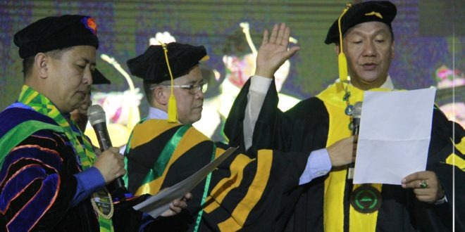 IN PHOTOS: The Investiture ceremony of the 9th President of Central Mindanao University