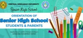 LOOK: Orientation of CMU Senior High School Students and Parents