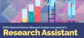 HIRING: CMU Natural Science Research Center is in need of a Research Assistant