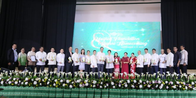 Alumni Awardee: PCUP Commissioner Jandugan reminisce moments in his stay at CMU