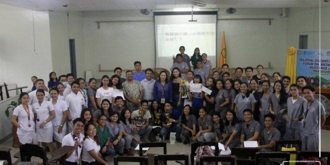 IN PHOTOS: Regional Students' Awareness Forum on Antimicrobial Resistance (AMR)