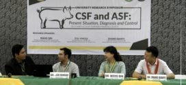"IN PHOTOS: A University Research Seminar Series entitled, ""CSF and ASF: Present Situation, Diagnosis and Control"""