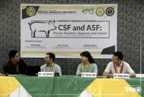 """IN PHOTOS: A University Research Seminar Series entitled, """"CSF and ASF: Present Situation, Diagnosis and Control"""""""