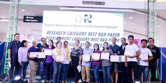 CMU Researchers emerge as top winners on NOMCAARRD's 31st RSRDH