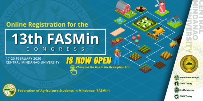 13th FASMin Congress Online Registration is NOW OPEN