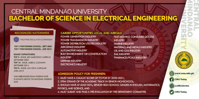 LOOK: Bachelor of Science in Electrical Engineering