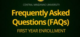 Frequently Asked Questions (FAQs) FIRST YEAR ENROLLMENT