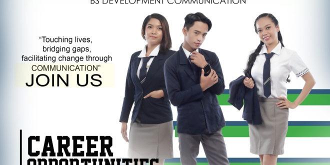 LOOK: CMU Department of Development Communication offers MS Development Communication and BS Development Communication.
