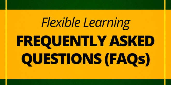 LOOK: Frequently Asked Questions (FAQs) on CMU's Flexible Learning, First Semester, SY 2020-2021