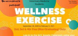 LOOK: The Guidance Center invites 2nd, 3rd, and 4th year (Non-Graduating) students for a Wellness Exercise – Agriculture, Forestry and Environmental Science, and Veterinary Medicine.