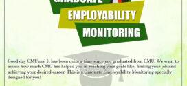 CMU GRADUATE EMPLOYABILITY MONITORING